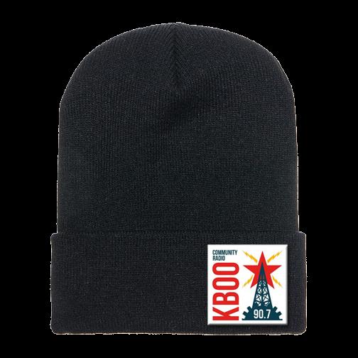 KBOO Knit Hat