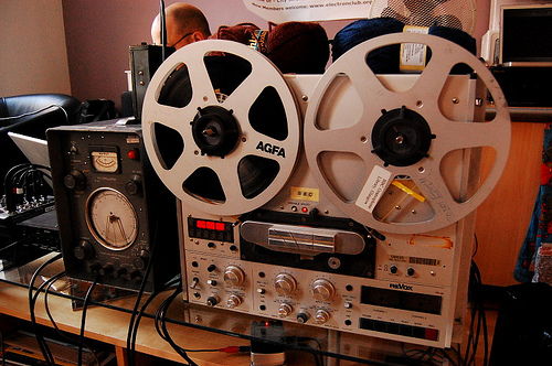 Revox PR99 Reel-to-Reel, courtesy of carrierdetect, aka Andrew Back