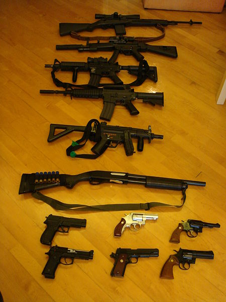 lots of guns