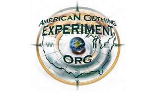 logo for American Clothing Experiment