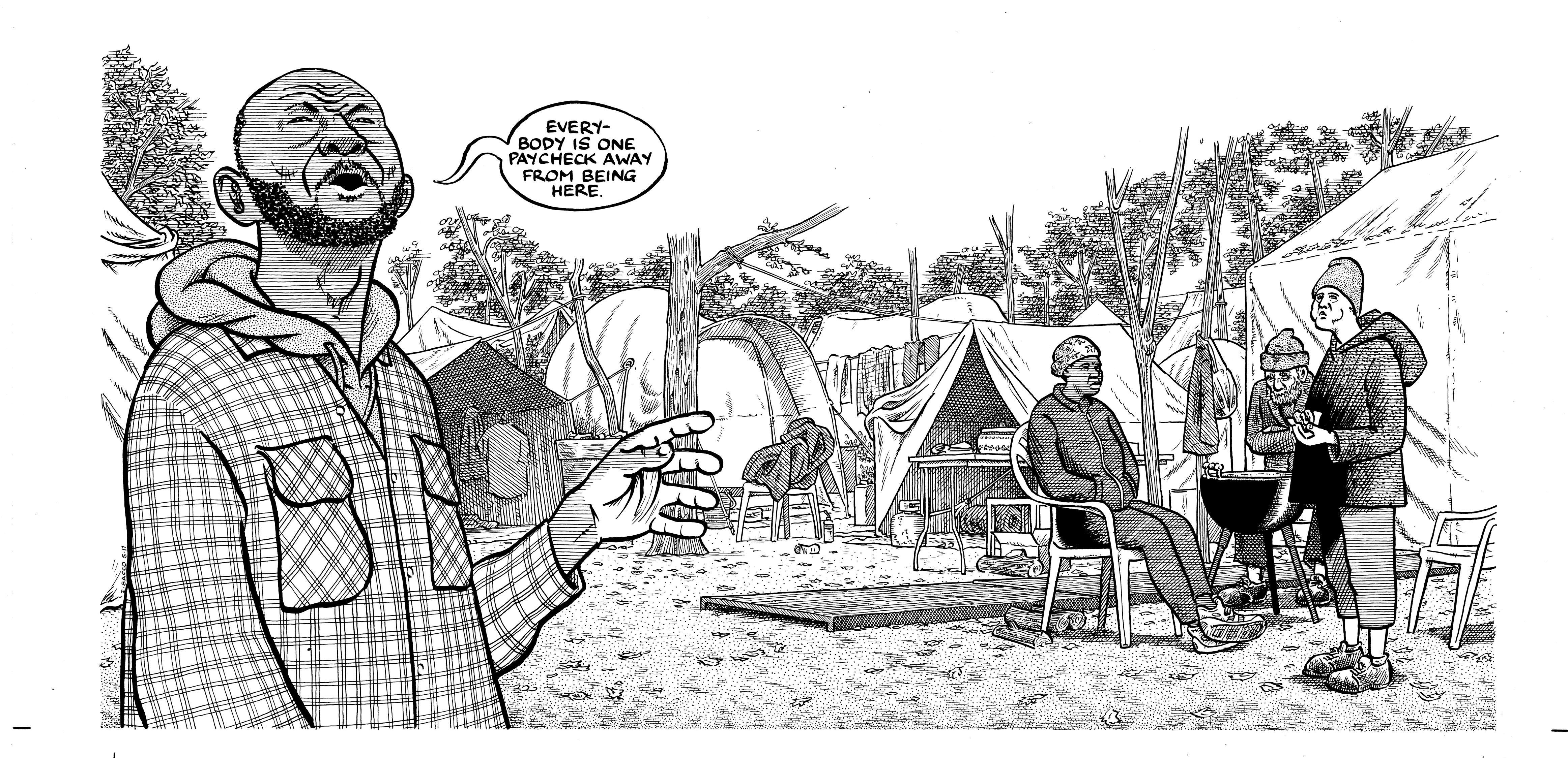 illustration from Days of Destruction, Days of Revolt