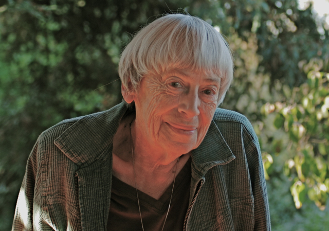 Ursula K. Le Guin -Photo: Richard Jensen