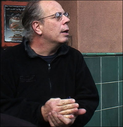 photo of Dennis Bernstein by Bill Carpenter
