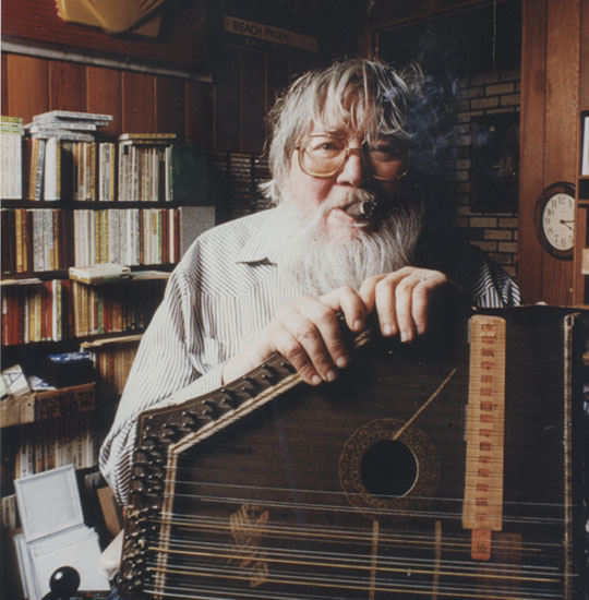 Ern Hood, one of the founding fathers of KBOO