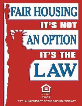 Fair Housing: It's not an option, it's the law