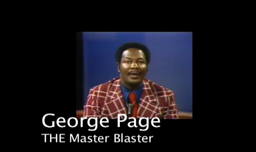 George Page - the Master Blaster