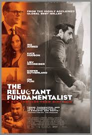 advertising poster for film Reluctant Fundamentalist