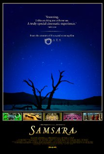 poster for the film Samsara