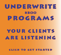 underwrite KBOO programs