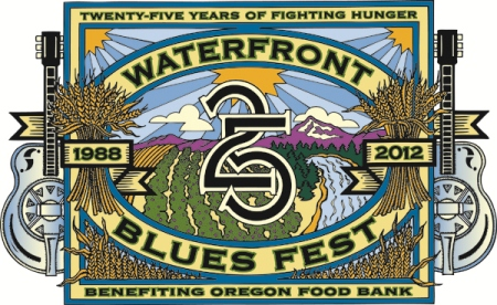 Bikes And Blues Oregon 2014 Waterfront Blues Festival on