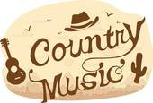 Country Music Poster