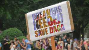 Dreamers Needed Save DACA, photo by VJ Beauchamp