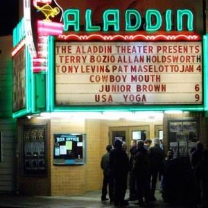 Aladdin Theatre (image from eventful)
