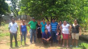 Trabajadores en Choluteca, Honduras