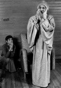 Ma Anand Sheela and Baghwan Shree Rajneesh