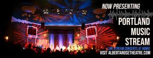 The Alberta Rose Theatre presents the Portland Music Stream series