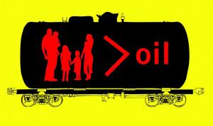 oil train artwork