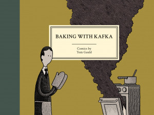 Baking With Kafka author Tom Gauld talks with KBOO's Words and Pictures during his visit to Wordstock 2017 in Portland