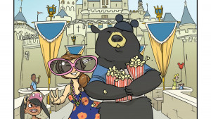 Cat Farris and Pamela Ribon talk with Words and Pictures host S.W Conser about their graphic novel My Boyfriend Is a Bear