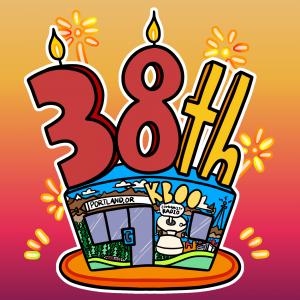 38th anniversary of the KBOO studio