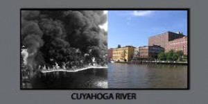 cuyahoga river then and now