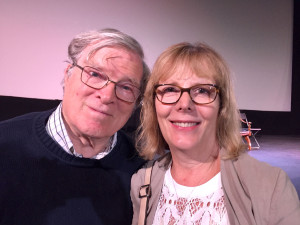 Direct Cinema documentarians D.A. Pennebaker and Chris Hegedus at the Hollywood Theatre in Portland on July 7, 2016
