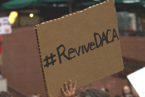 DACA rally, photo by Joe R. Frazier - All Rights Reserved