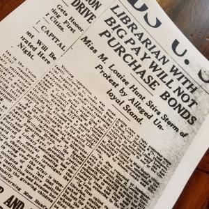 Portland Telegram headline