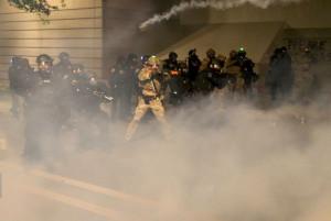 Feds teargas Black Lives Matter Protesters in Portland