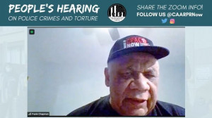 Frank Chapman, Chicago Alliance Against Racism and Political Repression
