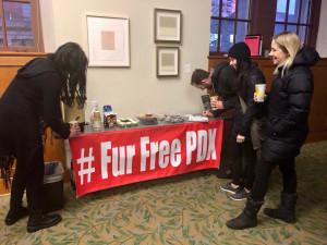 Portland Fur Ban
