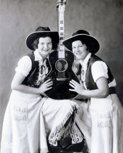 Image of the Girls of the Golden West, a country singing duo