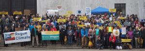 Clean Energy Jobs bill rally