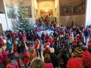 Jordan Cove Protesters fill Oregon Capitol Rotunda 11-21-19