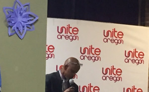 Kayce Jama of Unite Oregon at JTTF Town Hall Jan 2019