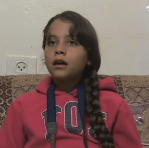 Janna Jihad, the youngest Palestinian journalist