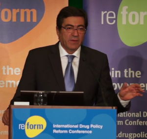 Doctor João Goulão, Portuguese Drugs and Alcohol National Coordinator and Director General of the Intervention on Addictive Behaviours and Dependencies General Directorate (SICAD)