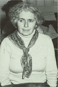 Grace Paley, November 1984