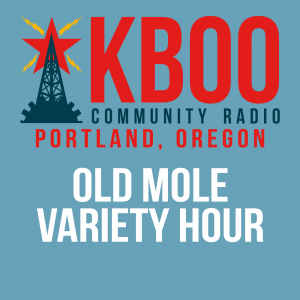 KBOO station logo with show name
