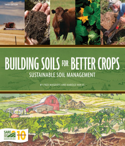 Building Soils for Better Crops book cover
