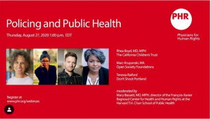 Policing and Public Health webinar