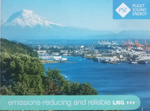 Puget Sound Energy glossy mailer