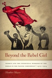 cover image of Beyound the Rebel Girl, women with red flag