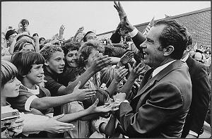Richard Nixon and kids