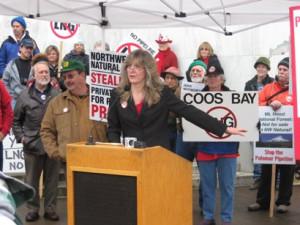 Salem Rally against Jordan Cove