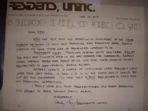 Residents/KBOO letter