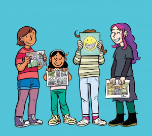 Raina Telgemeier visits Words and Pictures with S.W. Conser during the 2019 Portland Book Festival