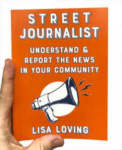 Street Journalist - book cover