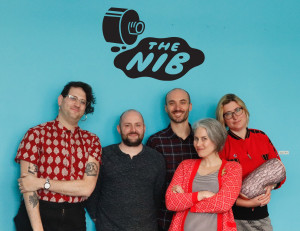 The Nib editors Matt Bors and Eleri Harris join S.W. Conser on Words and Pictures