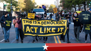 Protests after 2020 Election Day